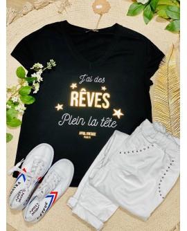 DES REVES - TSHIRT MC