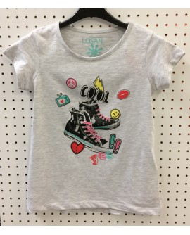T-shirt MC LOSAN 1214