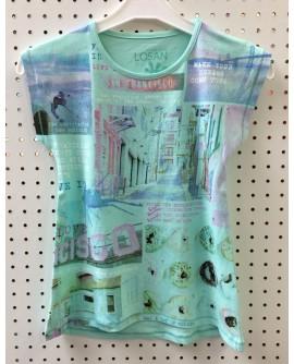 T-shirt MC LOSAN 1215