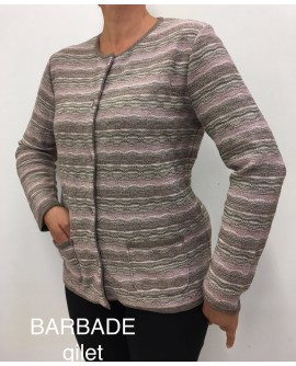 BARBADE GILET - ELEANE