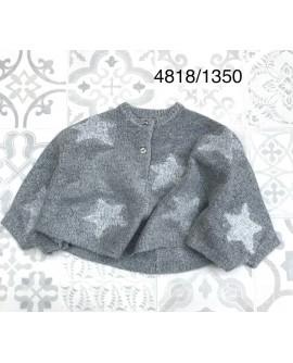 4818 GRIS - PONCHO
